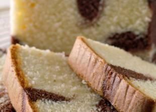 Délices et Gourmandises - cake-marbre-au-chocolat